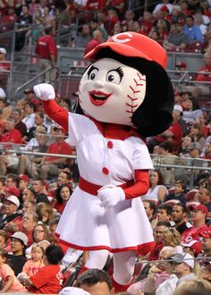 Rosie Red ~ Cincinnati Reds