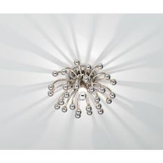 """Robert Abbey Anemone 13"""" Wide Ceiling or Wall Light 
