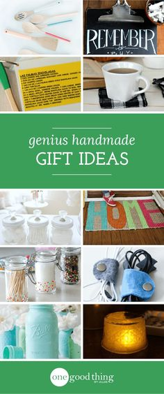 Thinking about DIY-ing some gifts this year? We've got tons of great ideas for handmade gifts, from coasters and vases to mugs and tote bags.