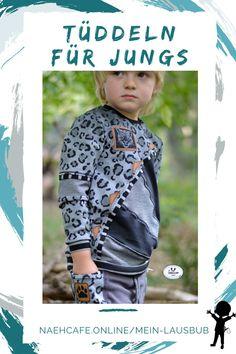 Nähen für Jungs kann einfach nur sooo schön sein: damit ist dein Shirt Ruck-Zuck aufgepeppt und verschönert. Das Schnittmuster Moldüsershirt – viel Platz zum Tüddeln, so macht nähen für Jungs einfach Spaß. Mein Lausbub – Schnittmuster für Jungs Pimp Your Shirt, Shirts, Collection, Seasons Of The Year, Tops, Sewing Patterns, Simple, Dress Shirts, Shirt