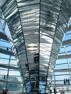 Anish Kapoor's hexagonal mirror
