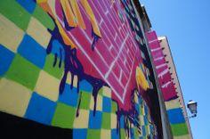 """Detalle del Muro de Ruina. Proyecto """"Muros"""".#ArteTabacalera Promoción del Arte #ArteUrbano #StreetArt Madrid Día de la Inauguración. #Arterecord 2014 https://twitter.com/arterecord"""