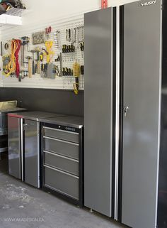 Father's Day Garage Makeover - http://akadesign.ca/fathers-day-garage-makeover/ #HDBlogSquad @HomeDepotCanada #fathersday
