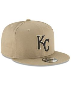 New Era Kansas City Royals Fall Shades 9FIFTY Snapback Cap - Tan Beige  Adjustable Gorros 92bf701f6c4