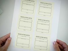 Learn how printing on post-its will pretty much change your classroom life. Get our free Post-it templates for rubrics, observation notes, and more. Preschool Portfolio, Teaching Portfolio, Paper Organization, Classroom Organization, Bathroom Organization, Classroom Management, Organizing, Date, Notes Template
