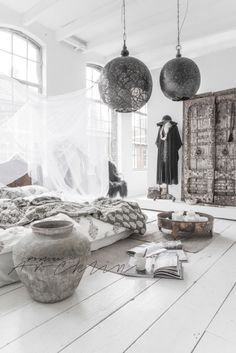 need bohemian inspiration? Look at paulinaarcklin.nl - wow, I want to live like that!