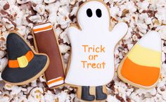 Trick or Treat Cookies2 Vlog #16: Decorating Halloween Cookies with Elenis