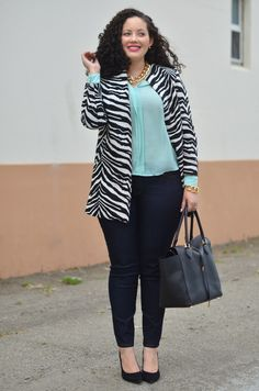 Just love this look. I could wear this to work or around town.