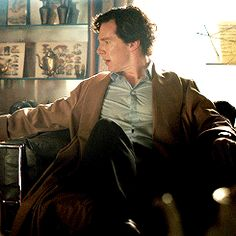 Sherlock   Those buttons are holding on for dear life
