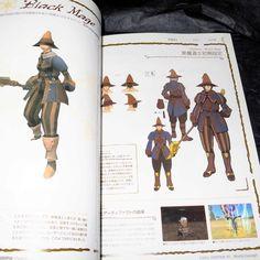 Final Fantasy XI World Concept Game Art Book | otaku.com