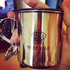 "@Graham Budd's photo: ""Got a present today from the school, a new mug. #epik #sokcho #southkorea #korea #cup"""