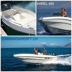 Karel 450 _______ Mehr Details unter www.CaminadaWerft.ch Oder einfach anrufen +41 (41) 340 40 14 C. Müsken  #sportboat #motorboat #motorboot #schweiz #suisse #svizzera #luzern #basel #zürich #genf #geneva #vierwaldstättersee #zürisee #zürichsee #bodensee #speedboot #walensee #genfersee #lacleman #neuenburgersee #lacdeneuchatel #langensee #lagomaggiore #luganersee #lagodielugano #thunersee