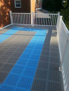 Decking Tiles Outdoor Pvc Deck Staylock Floor