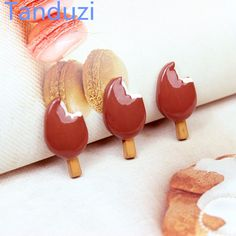 Cheap crafts diy, Buy Quality craft resin directly from China craft decoration Suppliers: Tanduzi 20pcs Flatback Resin Cabochons Simulation Food Chocolate Ice-lolly DIY 1:12 Dollhouse Miniature Decoration Resin Crafts