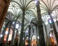 You can't help but wow at the majestic Catedral de Santa Ana when in Vegueta. Step inside, as the interior is as glorious as the exterior. Spain Holidays, Winter Holidays, Tenerife, Grand Canaria, Santa Ana, Canario, Canary Islands, Cathedral, Places To Visit