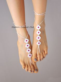 Purposeful White Ivory Foot Chain Jewelry Lace Women Bracelet Anklets Barefoot Sandal Beach Fashion Jewelry