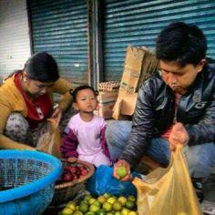 aktifitas di pasar besar #palangkaraya