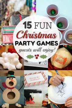 Fun Christmas Party Games – Christmas Games Ideas for Everyone! Find 15 fun Christmas party games everyone will love. These Christmas games ideas will be a hit. Christmas games for groups are so fun! Christmas Party Games For Groups, Christmas Party Activities, Adult Christmas Party, Holiday Party Games, Company Christmas Party Ideas, Kids Christmas, Christmas Party Ideas For Adults, Holiday Ideas, Xmas Games