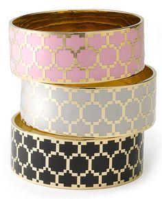 Juicy Couture Honeycomb Enamel Bangle
