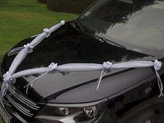Dekoration Autoschmuck Hochzeitsauto Auto Schmuck Autodeko Girlande - Set 2 Stk