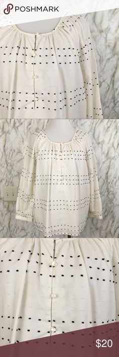 Cute Talbots Polka dot Tunic Excellent used condition, perfect for summer, 100% cotton, super comfy and versatile, No smoking Home Talbots Tops Tunics