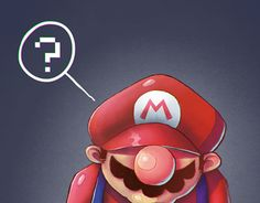 "Check out new work on my @Behance portfolio: ""thinking Mario"" http://be.net/gallery/44943119/thinking-Mario"
