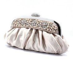 Chiffon Wedding/Special Occation Clutches/Evening Handbags(More Colors) - USD $ 17.99