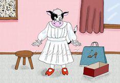 LÁPIZ Y PAPEL: La vaca estudiosa Disney Characters, Fictional Characters, Disney Princess, Cow, Short Stories, Songs, Fantasy Characters, Disney Princes