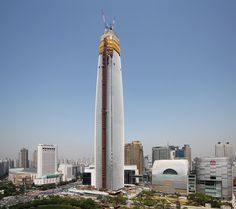 Lotte World Tower Cn Tower, Empire State Building, Engineering, Architecture, Travel, Arquitetura, Viajes, Destinations, Traveling