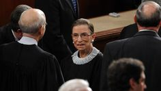 Justice Ruth Bader Ginsburg Owns a 'Dissenting Collar'