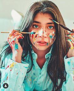 Paint Photography, Face Photography, Photography Editing, Photography Women, Creative Photography, Creative Photoshoot Ideas, Creative Portraits, Photoshoot Inspiration, Photoshoot Concept