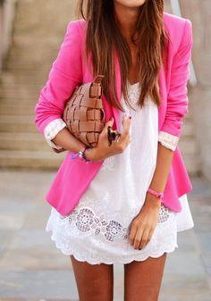 Spring and Summer Fashion 2015. P.S. I Love You More Boutique | Pretty in Pink Blazer | www.psiloveyoumoreboutique.com