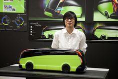 Green Future Bus - Art Center School Bus by Fast Company, via Flickr