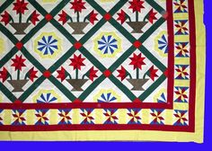 Carolina Lily, Pinwheel Star, With Ohio star borders - Quilt Top