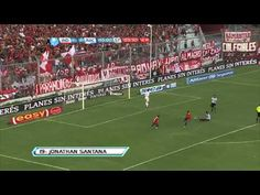 ▶ Gol de Santana. Independiente 2 Racing 0. Torneo Final 2013. Fecha 3. Fútbol Para Todos - YouTube