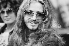 singer David Coverdale from English rock group Deep Purple posed during Deep Purple's tour of Japan in December 1975.