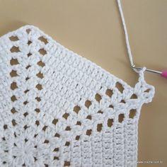 69 ideas for crochet flowers tulip granny squares Crochet Mittens Pattern, Crotchet Patterns, Doily Patterns, Crochet Slippers, Crochet Stitches, Knit Crochet, Crochet Hats, Crochet Mandala, Crochet Doilies