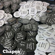 Chapas con mensajes, #Badges, #Buttons, #Chapas, #Chapea