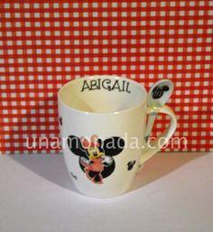 Taza mug con cuchara - Minnie