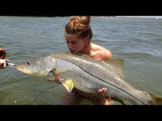 This is What a 30LB Snook Caught by a GIRL Looks Like!
