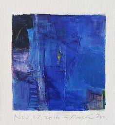 Nov. 17 2016  Original Abstract Oil Painting  by hiroshimatsumoto