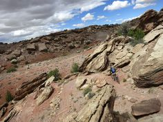Klondike Bluffs, Moab UT. Riding this tomorrow on a Rocky Mountain bike of course.