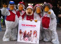 Image result for womble costume