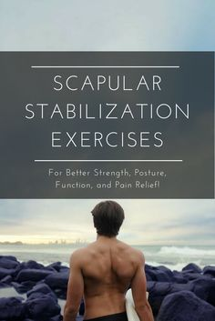 In this article, I'm going to teach you about how the scapula affects shoulder injuries and also share some exercises that stabilize your scapulae, strengthen your shoulders, improve functio…