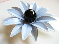Enamel Flower Pin