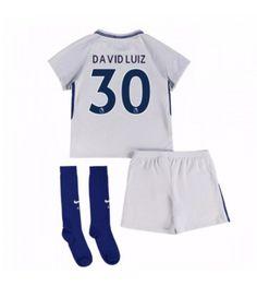 Chelsea David Luiz 30 Bortaställ Barn 17-18 Kortärmad Chelsea, Eden Hazard, Trunks, Sweatpants, Swimwear, Tops, Costa, Fashion, Stems