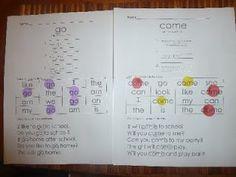 Sight word practice printables :)