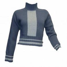 Nike Damen Pullover Wollpullover jeansblau