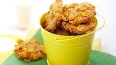 Cornflake cookies recipe - reduce sugar and take out choc chips