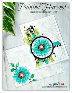 Today's blog hop challenge is the beautiful Painted Harvest Bundle and I'm sharing two cards I created. Order Stampin Up, Stampin with Sandi, Canadian Stampin Up Demonstrator, Stampin UP Card Making Blog